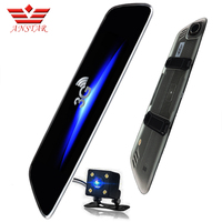 3G Car Camera 7inch IPS Android 5 0 GPS Car Video Recorder Bluetooth Dual Lens Rearview