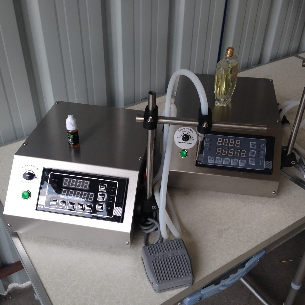 New Digital Control Pump Liquid Filling Machine With Tools Numerical Perfume Water 3-5000ML Eliquid Filling Machine