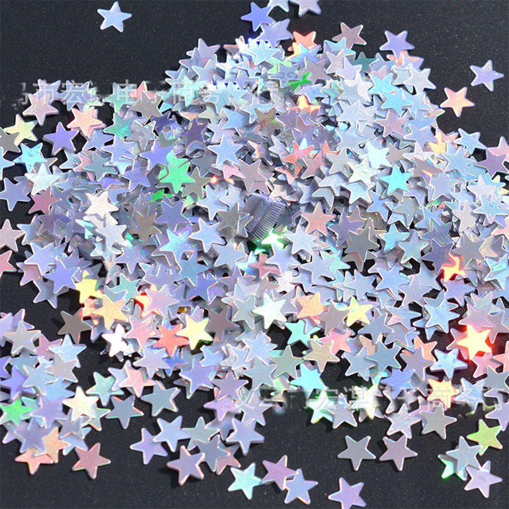 Iridescent star Confetti Table//Wedding Confetti