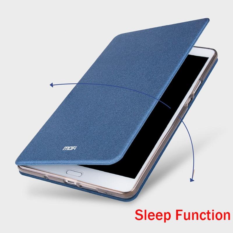 imágenes para Para Huawei Media Pad M3 M3 8.4 ''Caso Mofi Caso Hight calidad de Lujo Del Tirón Del Cuero Soporte de La Cubierta Función Sleep Para Huawei M3