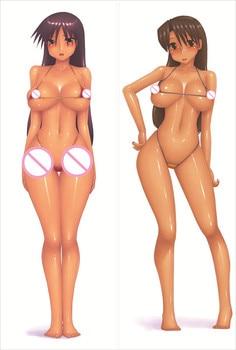MMF hot mange Azumanga Daioh personajes Sakaki & Mihama Chiyo funda de...