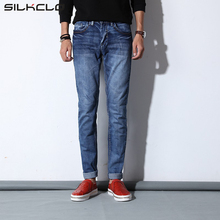 2016 FLC Brand New Arrival Spring Summer Jean Slim Fit Stretch Jeans casual elasticity pencil pants