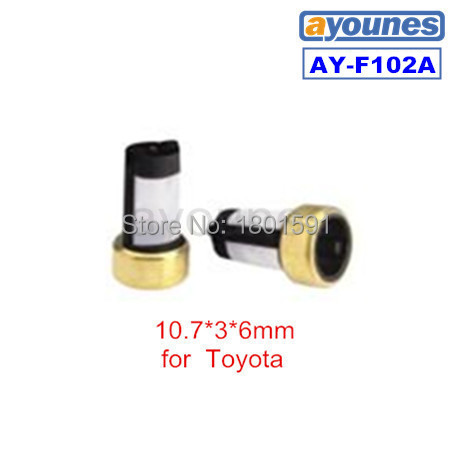 200pcs/set good quality micro basket fuel injector filter FOR TOYOTA CAR ASNU003(10.7*6*3mm,AY-F102A)