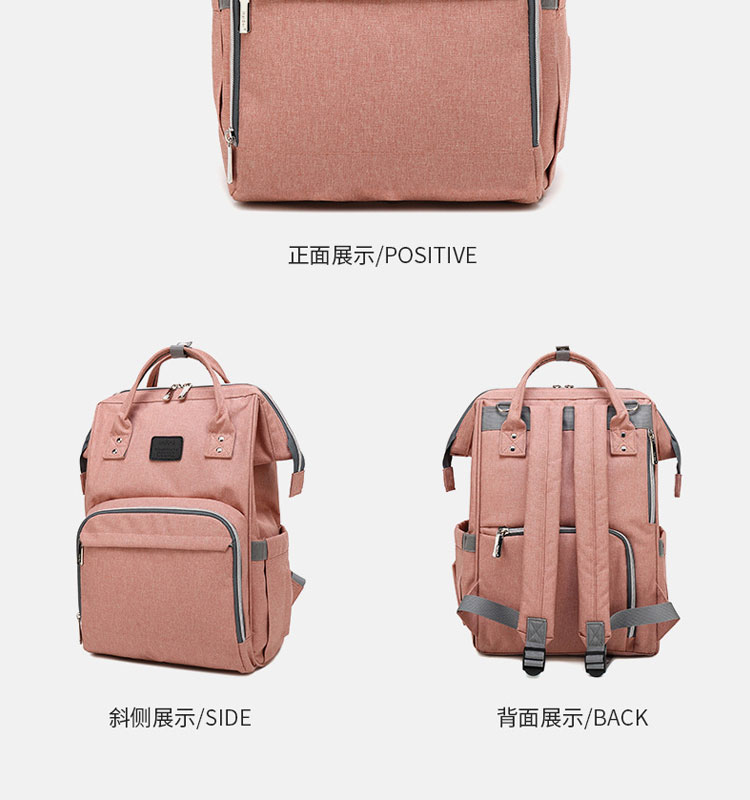 HTB13bs8QVYqK1RjSZLeq6zXppXaW Fashion Mummy Maternity Diaper Bag Large Nursing Bag Travel Backpack Designer Stroller Baby Bag Baby Care Nappy Backp