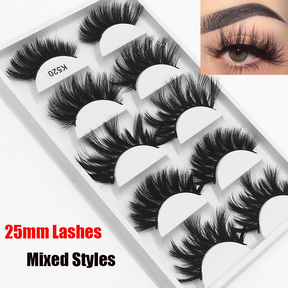 "5 count Black cut to size reborn eyelash strips 8"" x .33"""