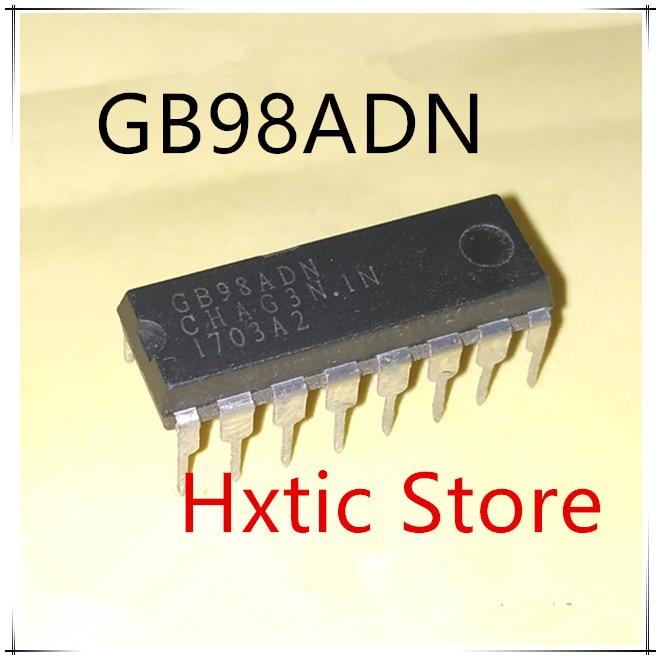 NEW 10PCS LOT GB98ADN DIP 16 IC