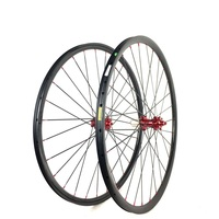 Carbon MTB Hookless Tubeless Wheel Width 24mm* Depth 24mm Carbon Wheels 26er 27.5er(650b) and 29er Eccentric Carbon MTB Wheels