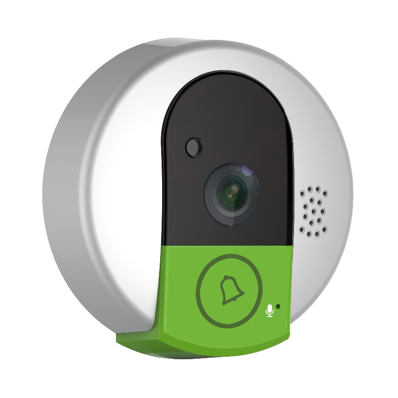 New Doorcam C95 IP Door Camera Eye HD 720P Wireless Doorbell WiFi Via Android Phone Control Video Peephole Door Camera us eu uk au plug ip door camera eye hd 720p wireless doorbell wifi video peephole wifi door camera 100 240v ac 75 73 27mm