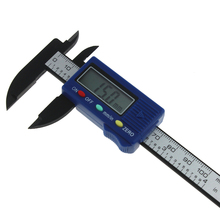 ANENG 0-100mm 4inch Carbon Fiber Digital Electronic Ruler LCD Digital Electronic Vernier Caliper Gauge Micromete