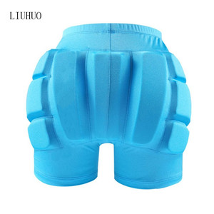 Image 2 - Figure Skating Ice Skating Hips Protector Pad Sports Safety Supporter Protective Protection Skiing Impact Shorts Wear Resistant