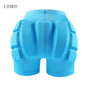 Image 2 - สเก็ตน้ำแข็งสเก็ตสะโพก Protector Pad กีฬาความปลอดภัย Supporter ป้องกันสกี Impact กางเกงขาสั้นสวมใส่