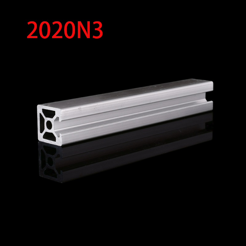 1pcs 2020N3 Aluminum Profile 2020N3 Extrusion European Standard Anodized Linear Rail Aluminum Profile 2020N3 3D Printer Parts