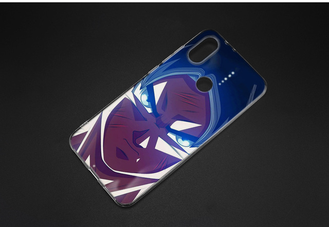 KMUYSL Dragon Ball Z Anime Goku Super Drawings Silicone Case Cover for Xiaomi Mi A2 Lite Redmi 6 6A Note 5 5A Pro Prime S2 Y2 6X 4