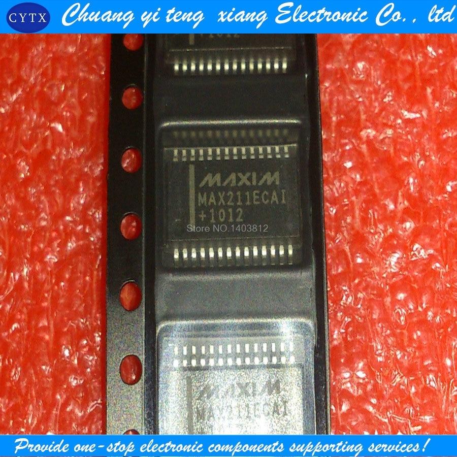 MAX211ECAI+T SSOP-28 RS-232 1PCS ...