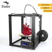 Автоматическое выравнивание Ender-4 3D принтер core-y алюминиевого Рамки v-слот дешевые принтера 3D комплект Большая площадь печати 220*220*300 мм n нити