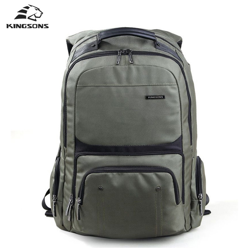 Kingsons  Laptop Backpacks Male High Quality Student Notebook Backpack Nylon Bagpack for Men mochila new notebook laptop keyboard for asus gfx70js gfx70jz french fr layout