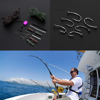 New Arrival Fishing Tackle Box New Carp Weights Safety Clips Hooks Swivels Hair Rigs Fishing Tools
