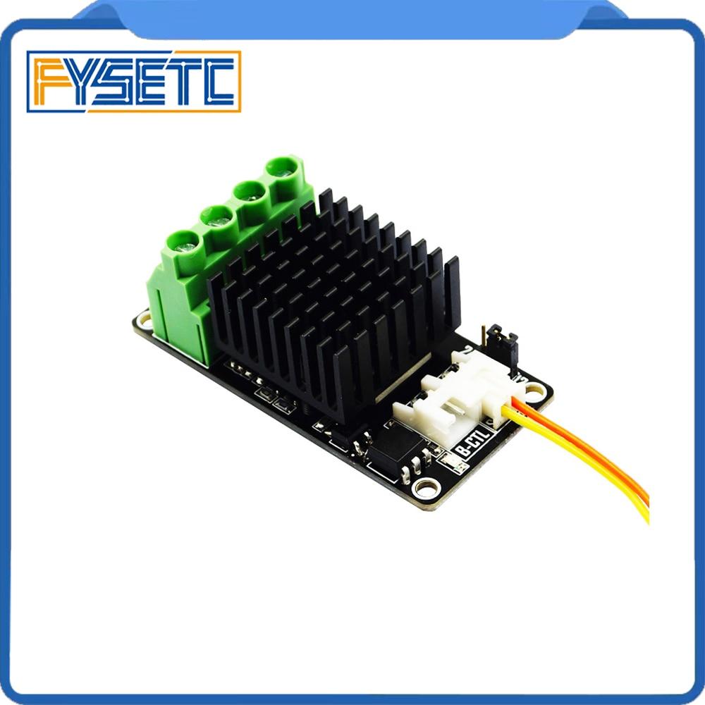 Новый 3D Принтер Горячая кровать Плата расширения питания/тепловой модуль питания/MOS трубка высокой текущей нагрузки мини модуль для Anet A8 A6 A2