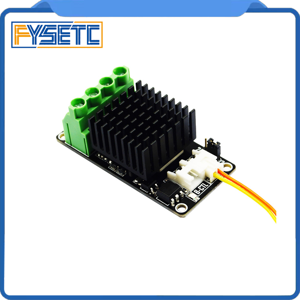 New 3D Printer Hot Bed Power Expansion Board / Heatbed Power Module / MOS Tube High Current Load Mini Module For Anet A8 A6 A2