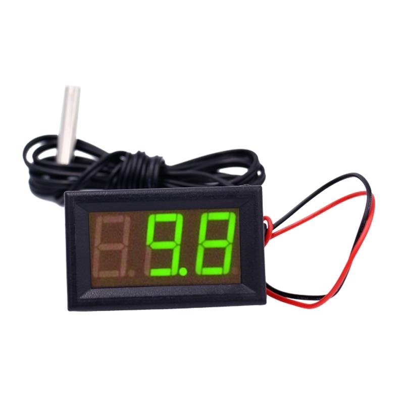 NOWY 12 V Cyfrowy termometr Tester monitorowania temperatury z - Przyrządy pomiarowe - Zdjęcie 3