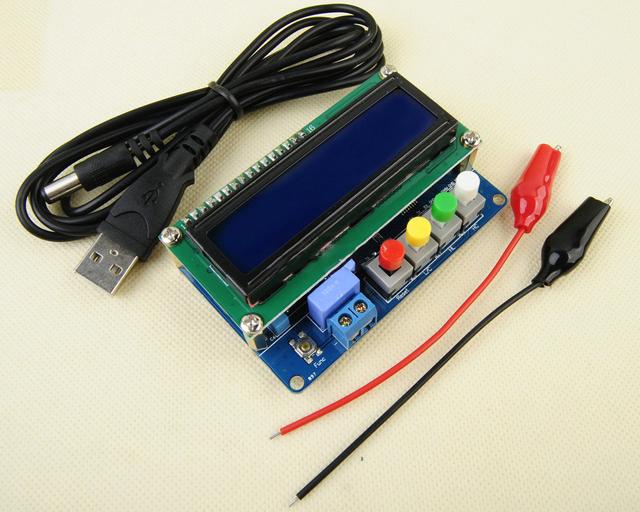 LC100-A Digital de Alta Precisão Indutância Capacitância L/C Medidor de CA PARA ARDUINO