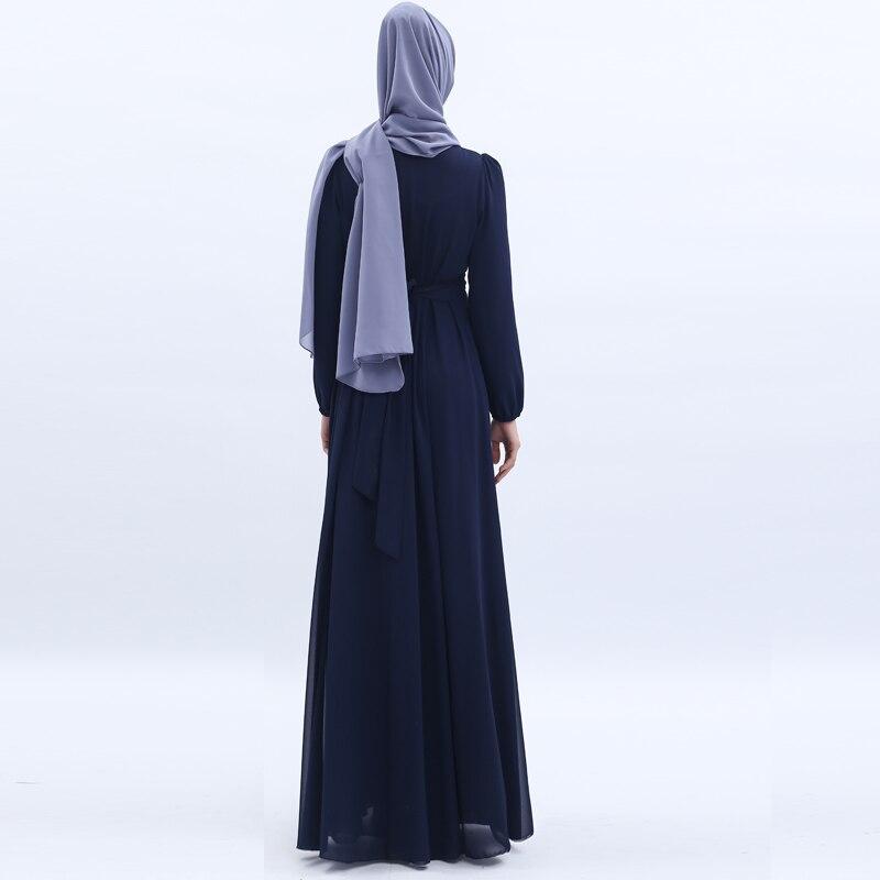 Mulheres Caftan Vestidos Femme Musulman