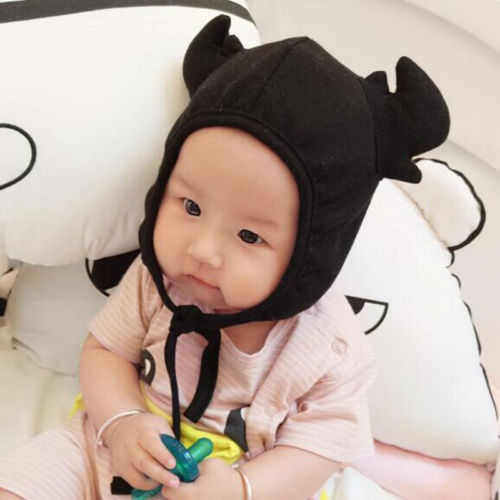 2017 new arrival baby 1-24months baby beanies boy girl ears hat cute baby cap wholesale baby hats