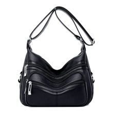 2019 New Shoulder Bags for Woman Sac A Main Femme Brand Luxury Leather Handbags Women Bags Designer Ladies Crossbody Bags