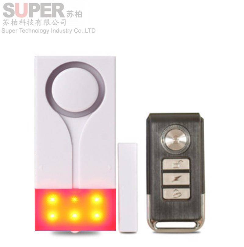 vibration+door sensor alarm dual function beeper shining+siren alarm door security alerter remote  sc 1 st  Pezcame.Com & Door Beepers u0026 This Sensor Is An Ideal Option For Homeowners Who ... pezcame.com