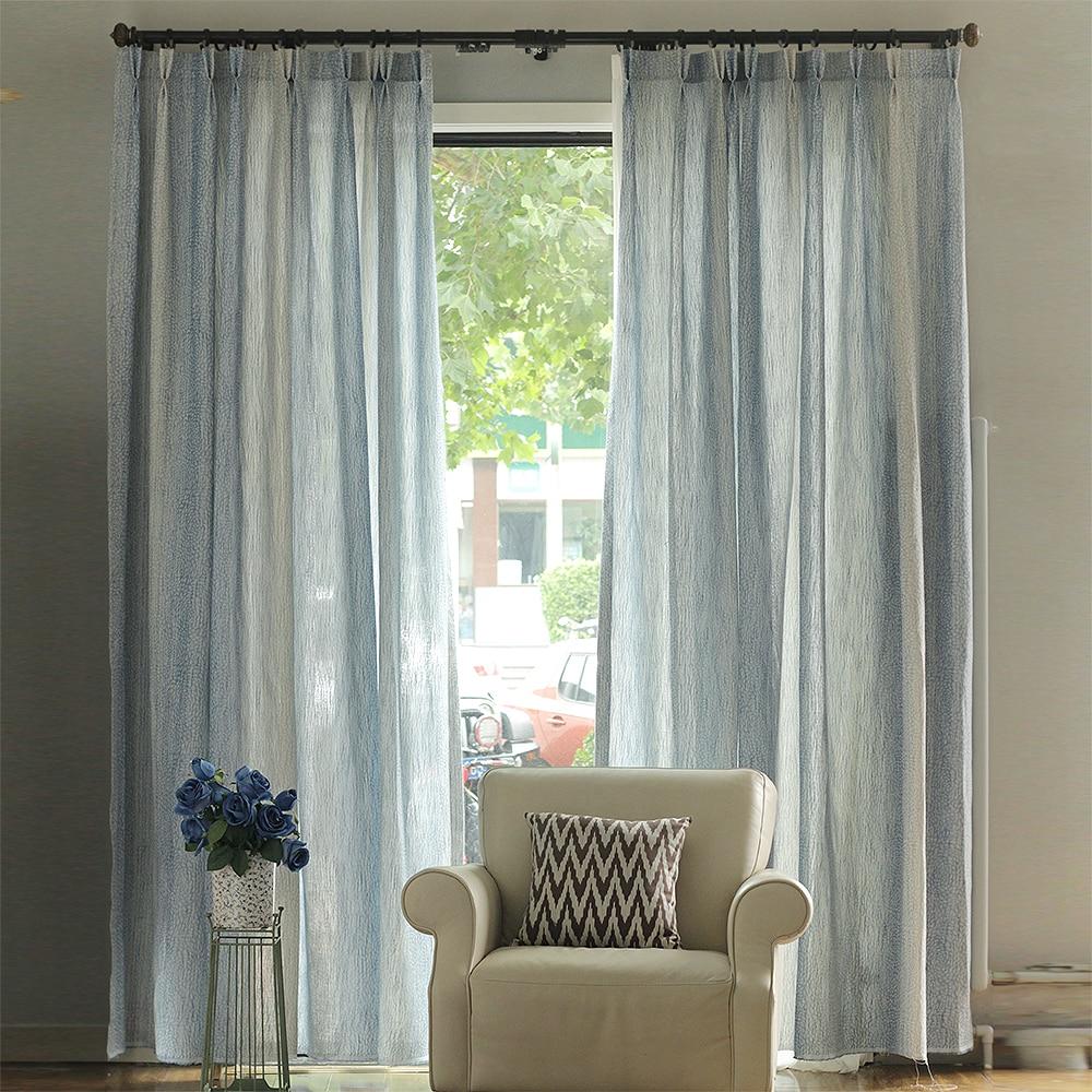 Living Room Window Curtains Aliexpresscom Buy Grey Blue Beige Cotton Linen Leopard Print