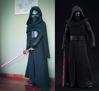 New Star Wars Cosplay Costume The Force Awakens Kylo Ren Adult Costumes for Halloween Carnival Costumes for Women/Men