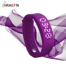 Hraefn pulsera reloj монитор сердечного ритма смарт-группы H5S Браслет спорта браслет фитнес-трекер реального времени usb часы лучший подарок