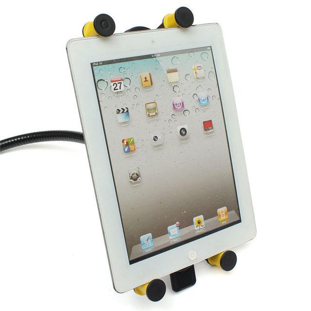 Venda quente Design moderno Universal conveniente 360 Rotating Desktop Stand preguiçoso Bed Tablet Mount Holder para iPad Air 5 2 para Samsung