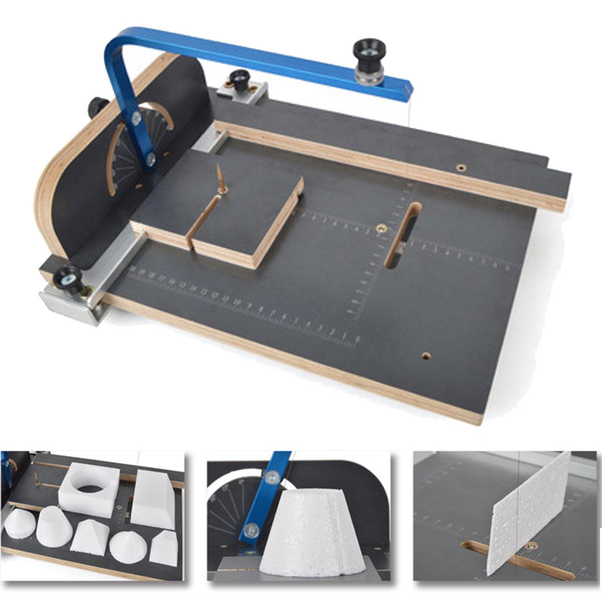 KIWARM Board WAX Hot Wire Foam Styrofoam PS Cutter Machine Working ...