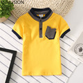 INMUSION 2017 new summer fashion brand children lapel Polo shirt short sleeve boy cotton leisure sports breathable clothing