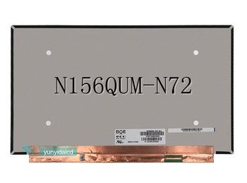 "NV156QUM-N72 NV156QUM N72 LED Screen LCD Display Matrix for Laptop 15.6"" UHD 3840X2160 Glossy 40pin eDP Replacement"