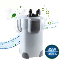 NCFAQUA 35 W 1400L/h SUNSUN HW-403B 3 этап аквариум внешний корпусный фильтр с 9 W УФ стерилизатор для Aqua аквариум до 350L