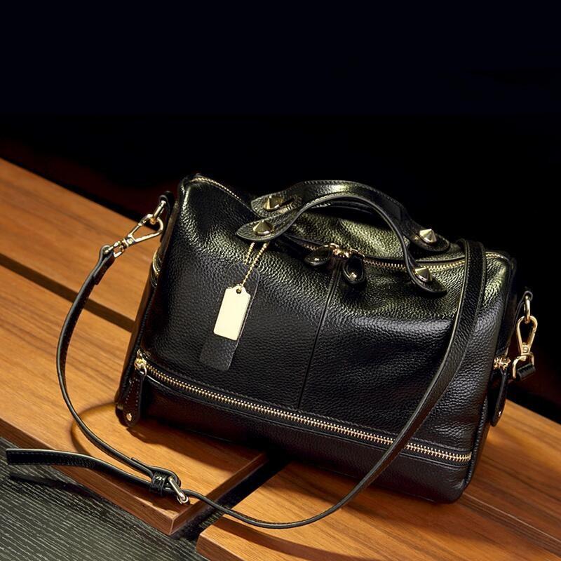Divatos női táska Puha bőr párna Női kézitáskák Márka nagy - Kézitáskák - Fénykép 2