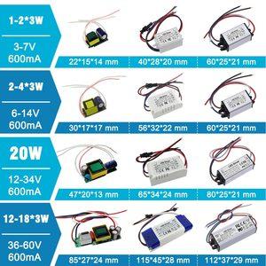 Image 5 - No Flicker 1W 3W 5W 10W 20W 30W 36W 50W 100W LED Driver Lighting Transformers Power Supply for 1 3 5 10 20 30 50 100 W Watt Lamp