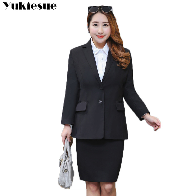 Blazer Jackets For Women Suit European Style 2019 Spring Fashion Work Style Suit Ladies Blazer  Blazer Outerwear Plus Size 9xl