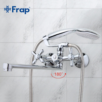 Traditional Bathroom Faucets 30mm Long Water Outlet Tube Move 90 Degrees Left And Right F2225