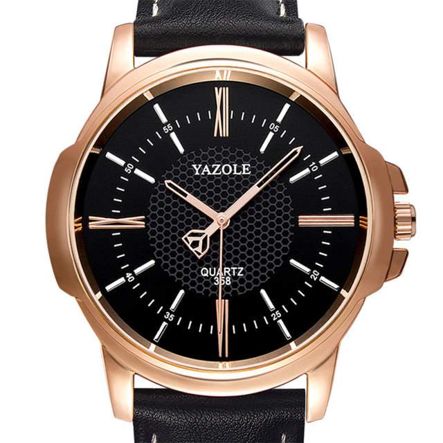c6c907b640c placeholder YAZOLE Rose Gold Wrist Watch Men 2018 Top Brand Luxury Famous  For Male Clock Quartz Watch