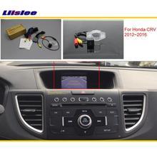 Liislee For Honda CRV C-RV (FB) 2012~2016 Car Back Up Reverse Camera Sets / RCA & Original Screen Compatible / Parking Camera