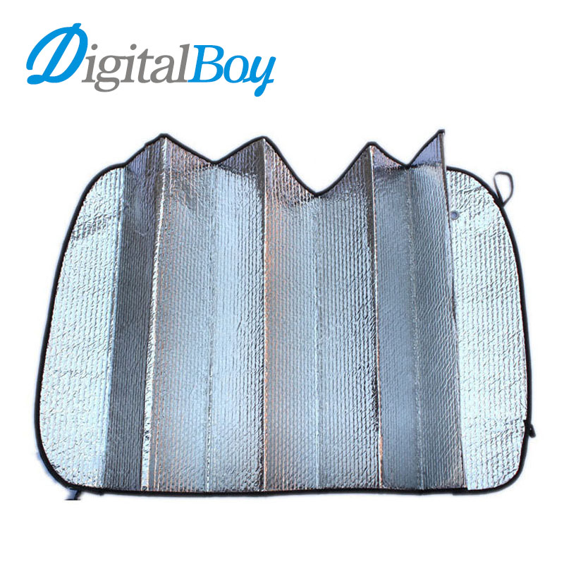Digitalboy Car Foldable Reflective Shades Auto Front Windshield Sunshade Sun Shade Visor Dashboard Cover Block Heat Reflective