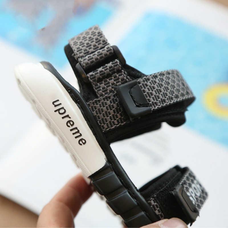 Пляжные сандалии; Летняя детская обувь; мини-обувь Melissa; мягкая противоскользящая подошва; на липучке; модная детская обувь для отдыха; летние сандалии для девочек