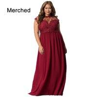 Merched Sexy Mesh Transparent Patchwork Women Dress 4XL 5XL Plus Size Party Dress Elegant Sleeveless Backless