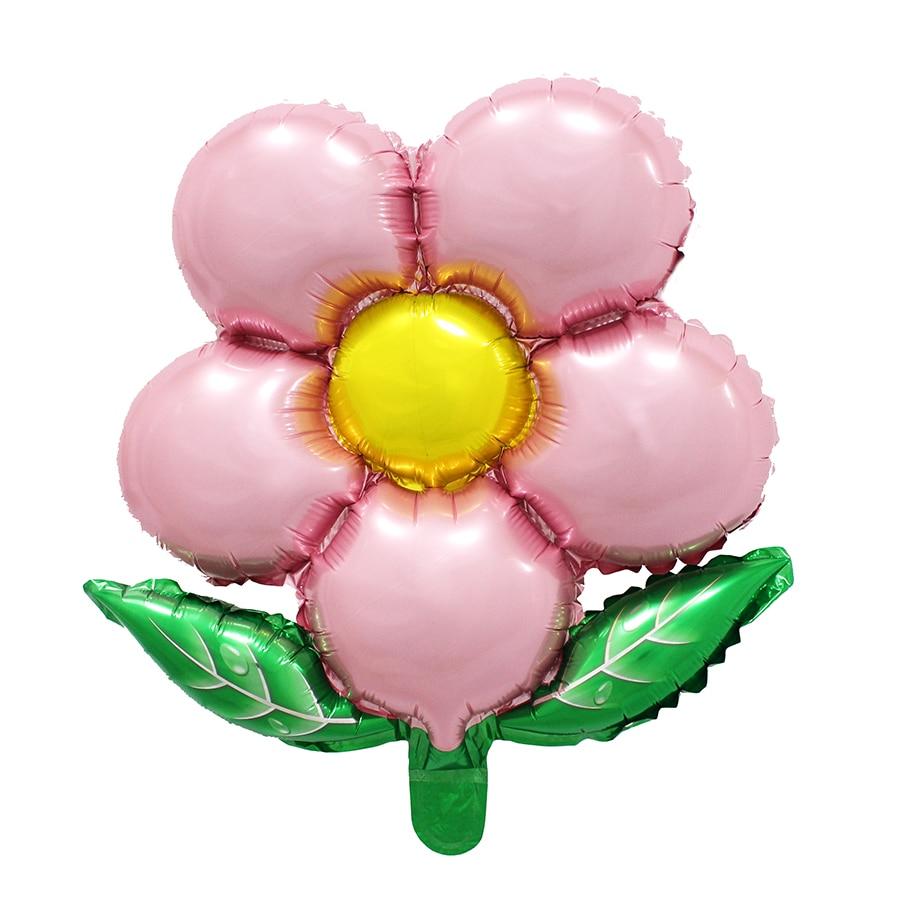 Aliexpress Buy Free Shipping Flowers Aluminum Balloons