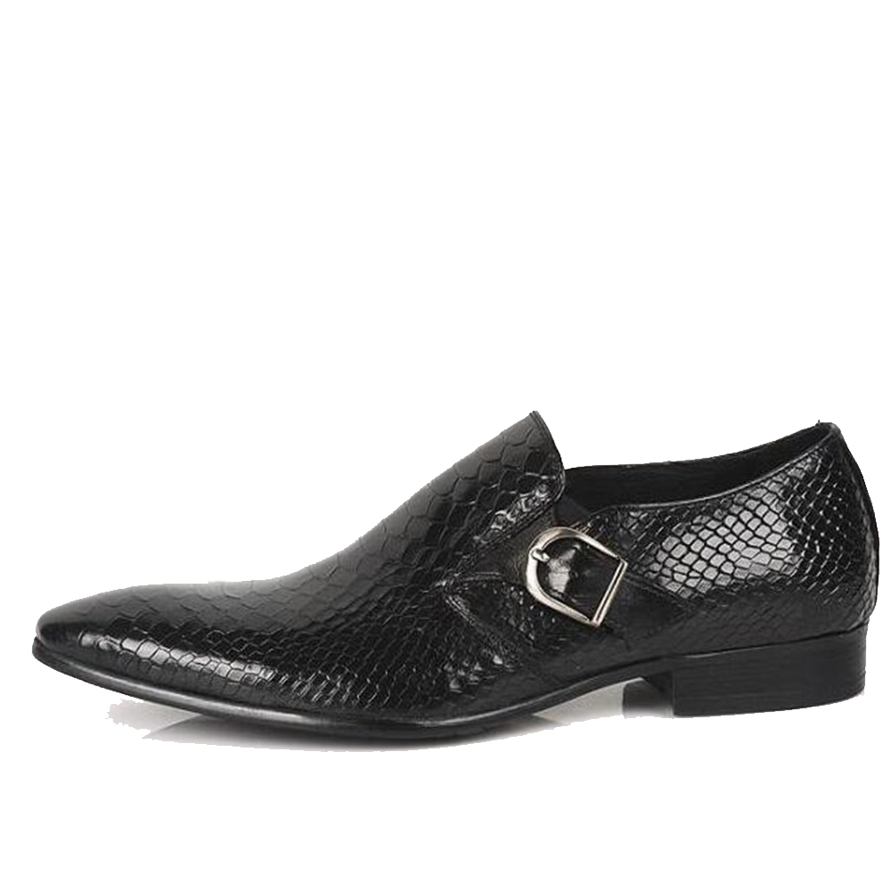 Buy Cheap Sipriks Men Slip On Dress Shoes With Single Monk Strap Red Brown Social Shoes Black Python Shoes For Men Business Office Flats Men's Shoes Shoes