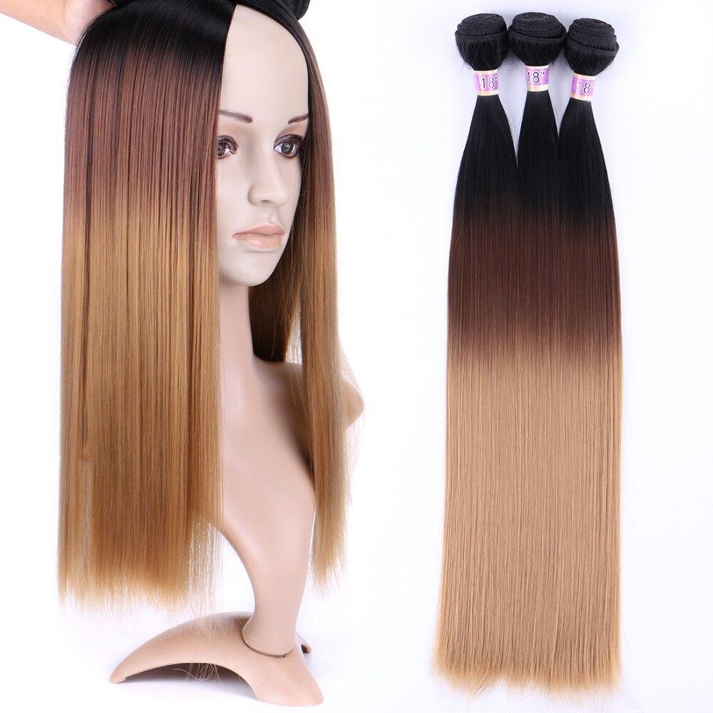 ombre feixes de cabelo t1 4 27 tecelagem de cabelo