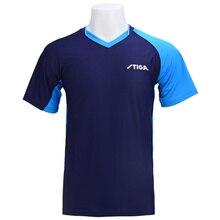 Nuovo Stiga Tennis Da Tavolo Abbigliamento Quick Dry T Shirt Pullover di Sport Sportwear Abbigliamento T Shirt Vestiti di Formazione